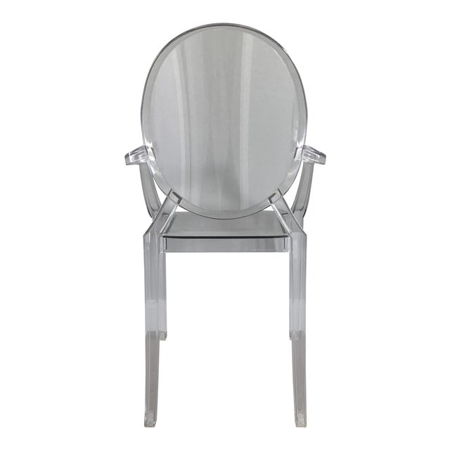 Philip Stark for Kartell Louis Ghost Chair | Chairish