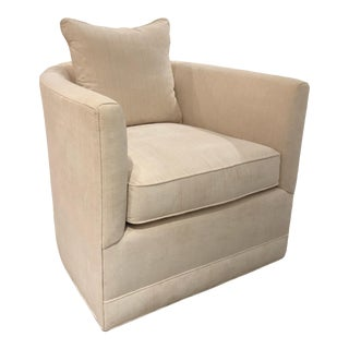 Chaddock Chandler Swivel Chair For Sale