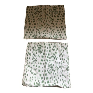 Brunschwig & Fils Pillowcases - a Pair For Sale