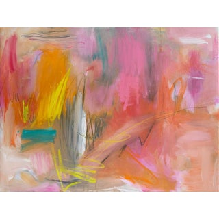 """""""Cape Leveque"""" by Trixie Pitts Large Abstract Expressionist Oil Painting For Sale"""