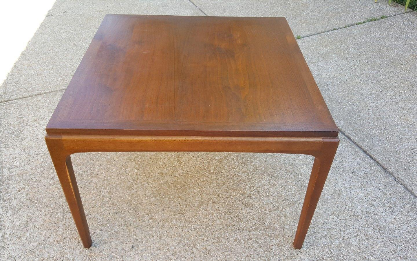 Great Lane Furniture Mid Century Modern Walnut End Table   Image 4 Of 10