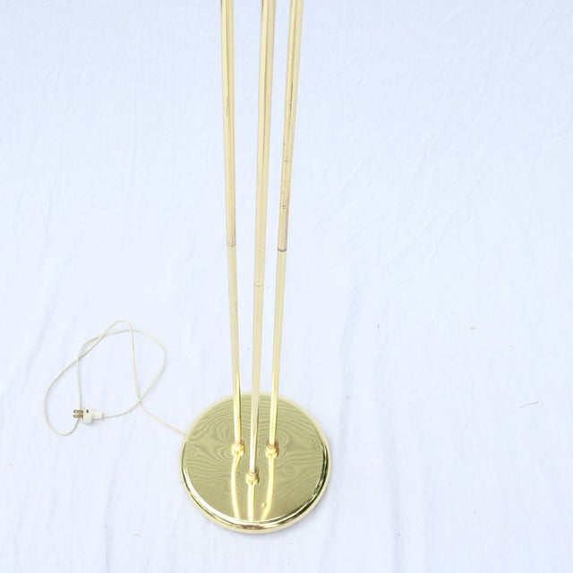 Vintage Italian Gold Three-Prong Torchiere - Image 5 of 10