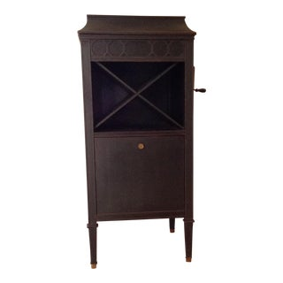 Antique Edison Phonograph Dry Bar For Sale