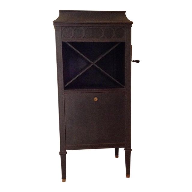 Antique Edison Phonograph Dry Bar For Sale