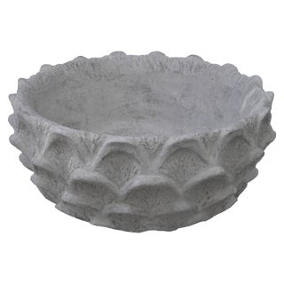 Scalloped Low Bowl For Sale