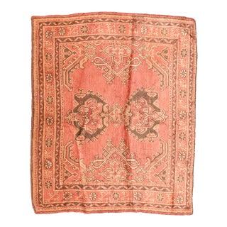 Antique Turkish Oushak Rug For Sale