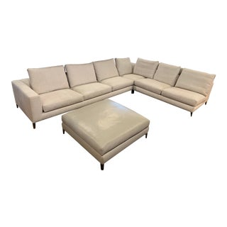 Modern Minotti White Sectional For Sale