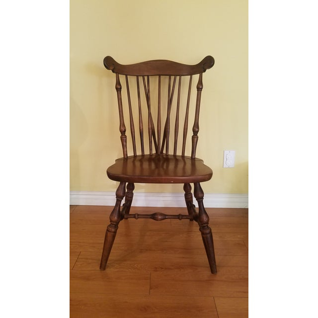 Temple Stuart Maple Dining Chairs - Set of 4 For Sale - Image 4 of 10