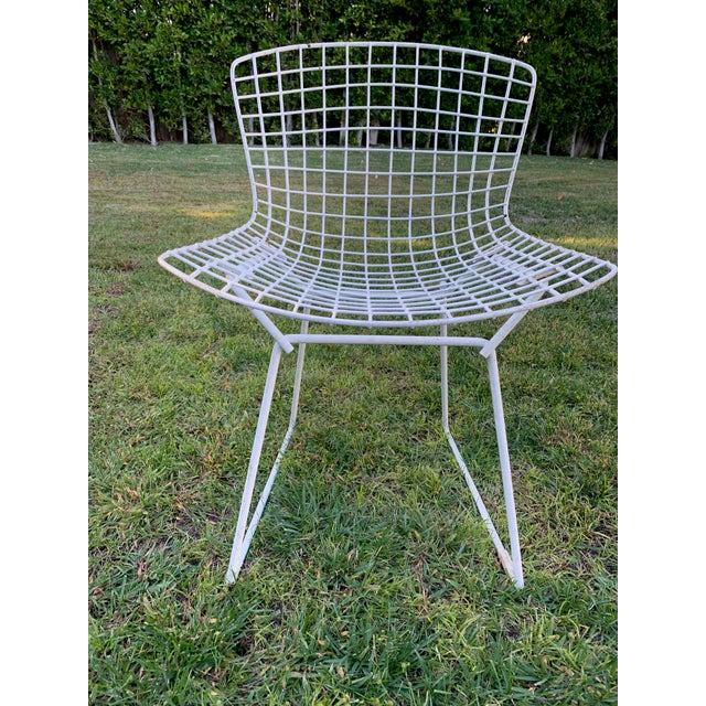 Mid 20th Century 1970s Bertoia Side Chairs- Set of 12 For Sale - Image 5 of 9