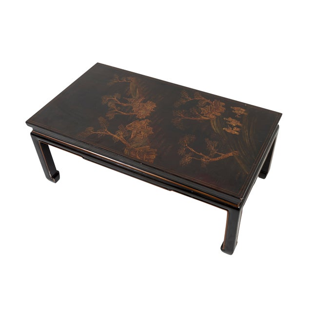 Chinese Early 20th Century Chinese Lacquer Coffee Table For Sale - Image 3 of 8