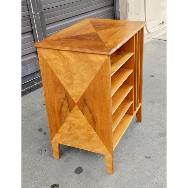 Mid-Century Modern 1950s Swedish Mid-Century Modern Open Filing Cabinet For Sale - Image 3 of 9