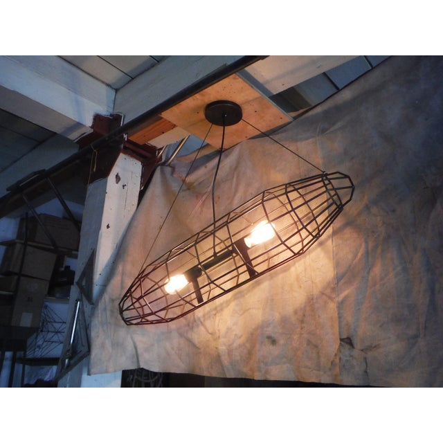 London 1916 Industrial Pendant Light - Image 5 of 6