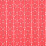 Image of Criss Cross Outdoor -Acrylic- Watermelon Fabric by Ferrick Mason - 2 Yards For Sale