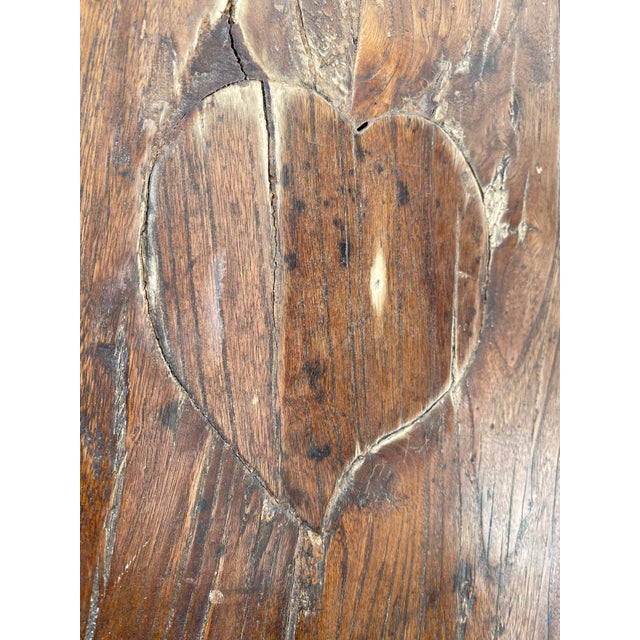 Chinese Elm Altar Large Console Table For Sale - Image 12 of 13