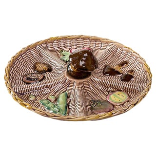 Ceramic Vegetable Serving Platter For Sale