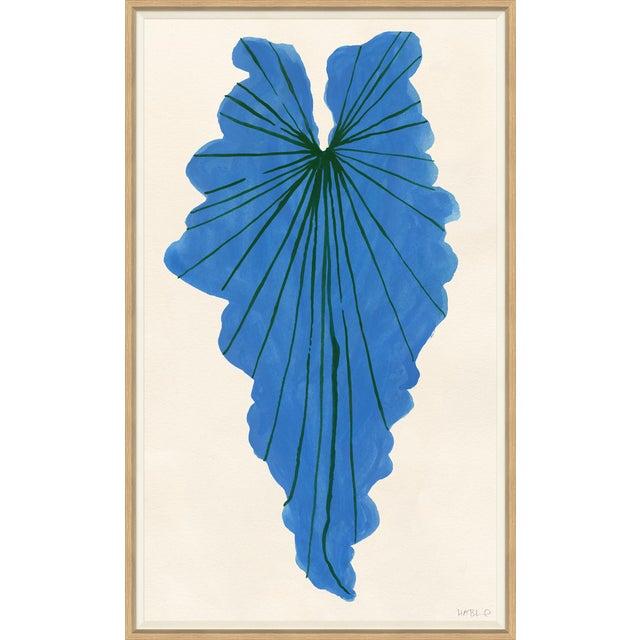Blue Palm Art Print For Sale