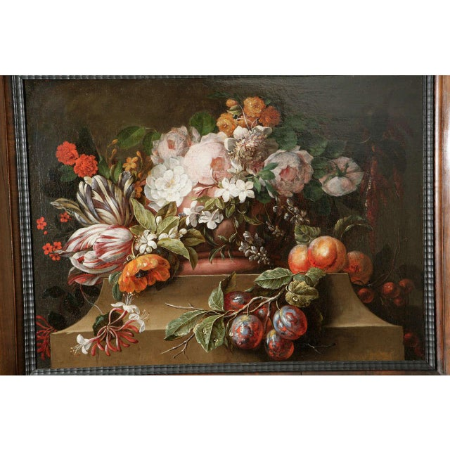 18th C. Dutch Still Life Oil Painting For Sale - Image 9 of 11