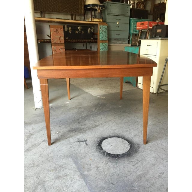 Danish Style Mid Century Modern Dining Table - Image 3 of 9