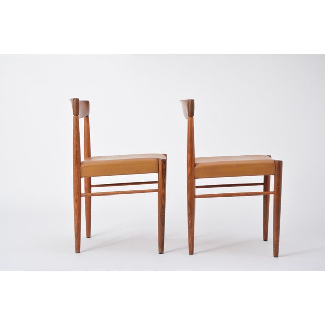 Set of 8 Midcentury Dining Chairs by h.w. Klein for Bramin For Sale - Image 11 of 12