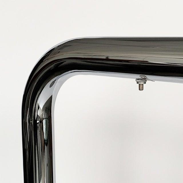 Robert Sonneman Polished Chrome Floor Reading Lamp For Sale - Image 11 of 13