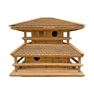 Early 20th Century American Folk Art Birdhouse For Sale