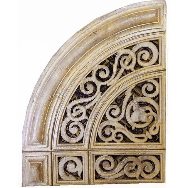 Casey Collection Architectural Arch Wall Decor - Set of 6 | Chairish