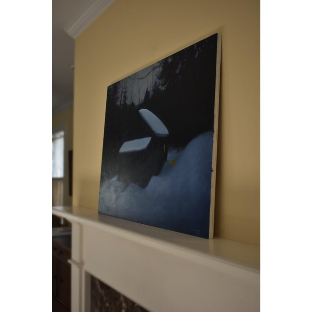 """Stephen Remick, """"Cozy"""", Contemporary Painting For Sale - Image 9 of 11"""