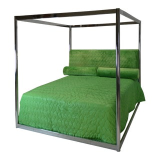 Steve Chase Custom 4 Poster Canopy Bed 1976 For Sale