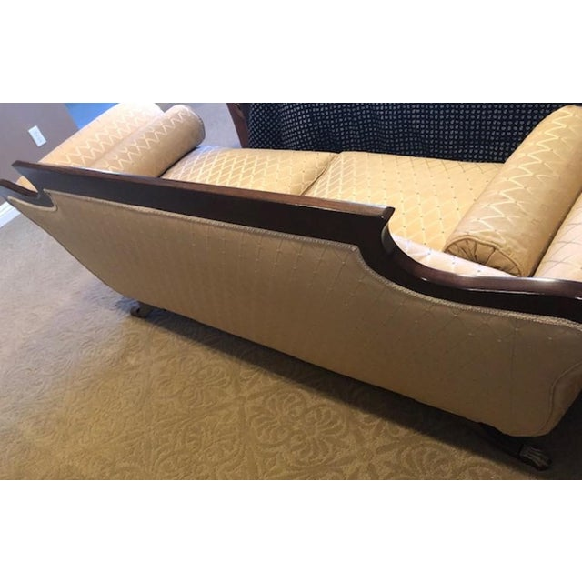 Duncan Phyfe Duncan Phyfe Mahogany Settee For Sale - Image 4 of 8