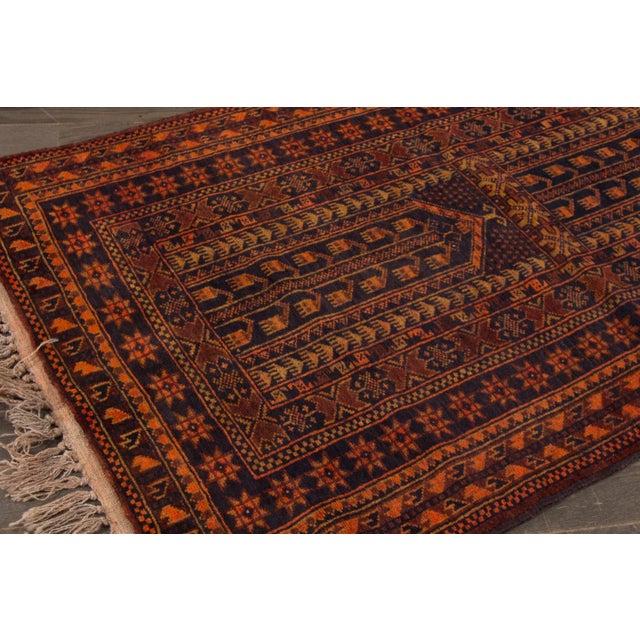 "Apadana - Vintage Persian Balouch Rug - 2'10"" x 4'10"" - Image 3 of 3"