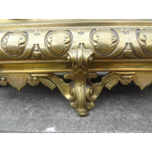 Mid 19th Century 19th Century French Napoleon III Brass Jardiniere or Planater For Sale - Image 5 of 11