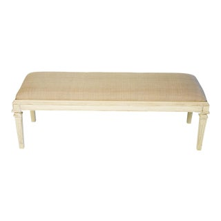 Mismatched Medium Bench in Stately White