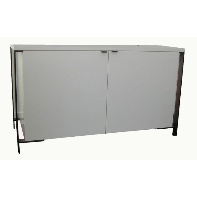 Fabry Bronze Frame Media Cabinet For Sale In New York - Image 6 of 8
