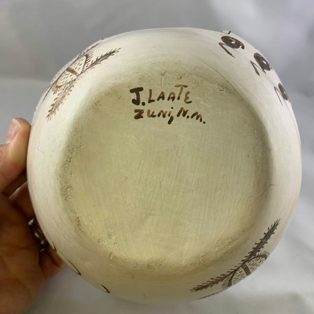 Jennie Laate Southwestern Prayer Bowl With Handle For Sale - Image 12 of 13
