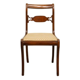 1960's Federal Style Dining Side Chair For Sale