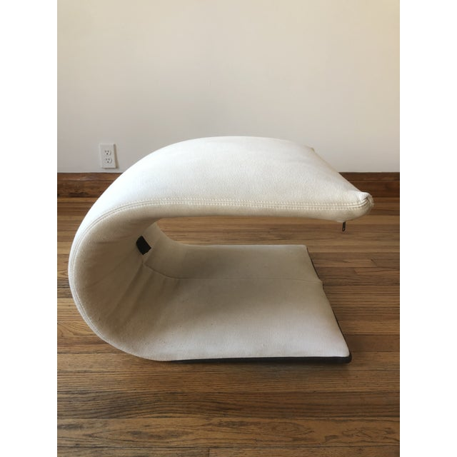 Sculptural Zen Chair and Ottoman by Ligne Roset For Sale In Chicago - Image 6 of 9