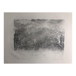Abstract Lithograph by Dellas Henke, 1979 For Sale