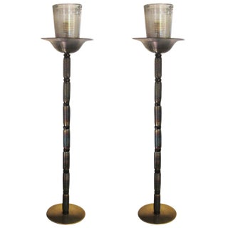 Barovier and Toso Design Floor Lamp