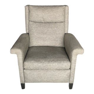 Early 21st Century Hancock Moore Recliner For Sale