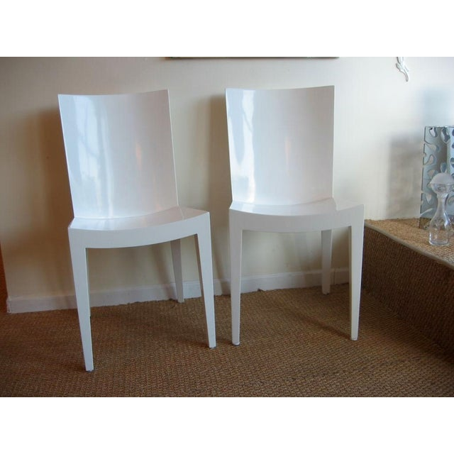 "Pair of Karl Springer ""JMF"" Chairs - Image 7 of 7"