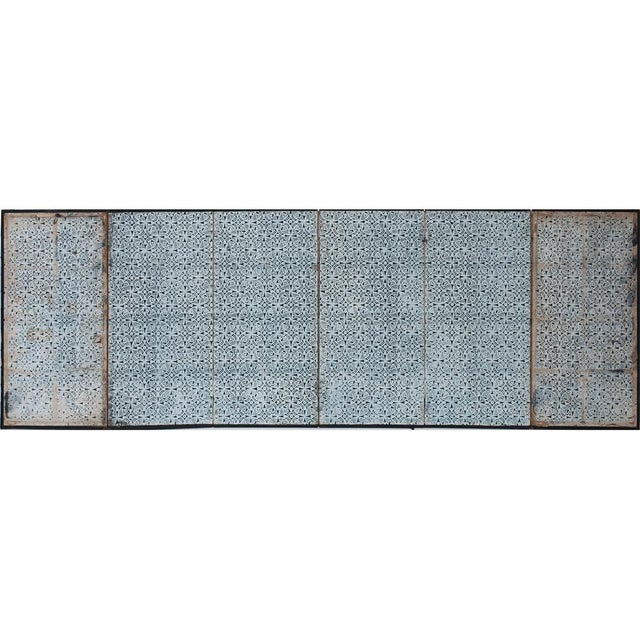 17th C. Japanese the Tale of Genji Byobu Screen For Sale - Image 12 of 13