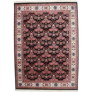 """RugsinDallas Vintage Indian Hand Knotted Rug - 8'9"""" X 11'10"""" For Sale"""