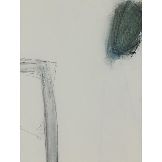 Abstract Abstract Painting Blues and Greens For Sale - Image 3 of 9