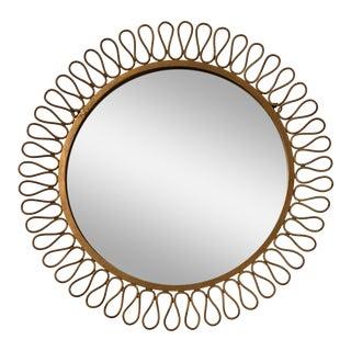 Mid Century Modern Salterini Ribbon Mirror