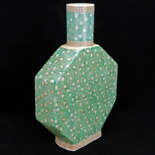 Early 20th Century Chinese Porcelain Vase For Sale - Image 9 of 9