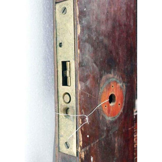 Antique Two Panel Wood Door - Image 2 of 5