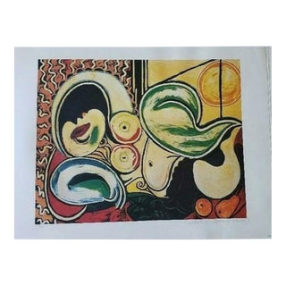 Femme Couchee Lithograph by Picasso For Sale