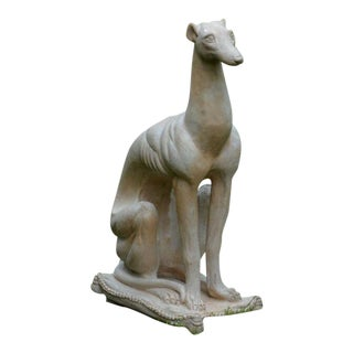 Chic Seated Greyhound For Sale