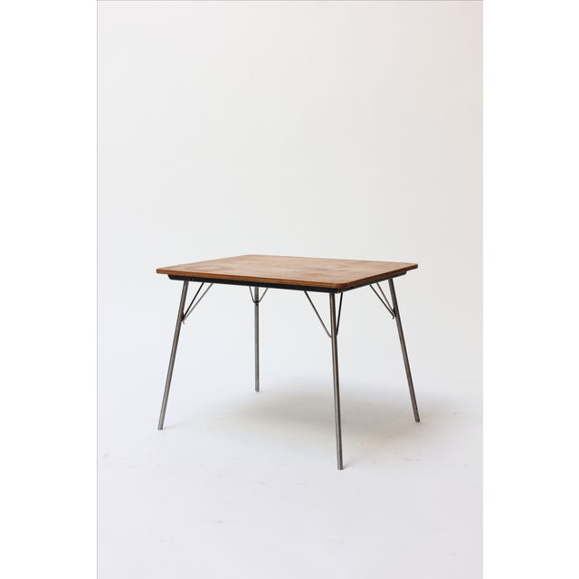 Vintage Eames designed IT-1 child size folding table. This is a rare and highly collectible piece in excellent condition...