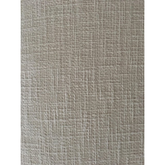 Knoll Tuxedo Linen Sofa - Image 10 of 10